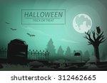 Halloween Night In The...