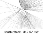 architecture building vector... | Shutterstock .eps vector #312464759