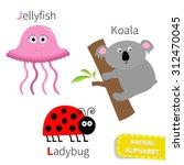 Letter J K L Jellyfish Koala...