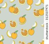pattern. seamless. fruits... | Shutterstock .eps vector #312537971