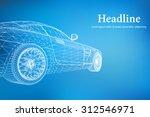 abstract creative concept... | Shutterstock .eps vector #312546971