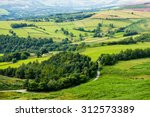 picturesque view on the hills... | Shutterstock . vector #312573389