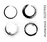 grunge brushes line | Shutterstock .eps vector #31257553