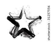 grunge star   Shutterstock .eps vector #31257556