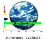 world in economic crises | Shutterstock . vector #31258396