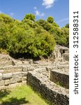 view at ruins of ancient city... | Shutterstock . vector #312588311