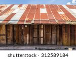 Wooden House Tin Roof  Old Thai ...
