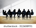 business people conference... | Shutterstock . vector #312608951