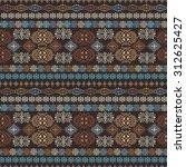 ethnic seamless pattern. ethno... | Shutterstock .eps vector #312625427