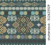 ethnic seamless pattern. ethno...   Shutterstock .eps vector #312625529