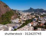 view of rio de janeiro while... | Shutterstock . vector #312625745