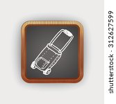 doodle travel bags | Shutterstock . vector #312627599