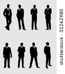 modern men 2   Shutterstock .eps vector #31262980