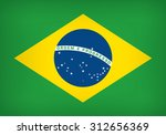 national flag of the federative ... | Shutterstock .eps vector #312656369