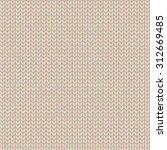 knitted seamless pattern.... | Shutterstock .eps vector #312669485