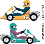 karting go cart race vehicle...