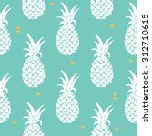 vector seamless pattern with... | Shutterstock .eps vector #312710615