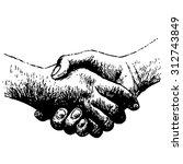 hand drawn illustration of...   Shutterstock .eps vector #312743849