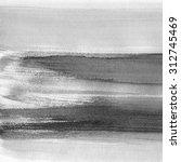 black abstract watercolor macro ... | Shutterstock . vector #312745469
