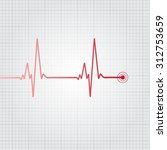 heartbeat vector illustration | Shutterstock .eps vector #312753659