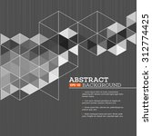 abstract template background... | Shutterstock .eps vector #312774425