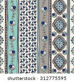 seamless paisley background.... | Shutterstock .eps vector #312775595