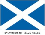 a flag illustration with... | Shutterstock .eps vector #312778181