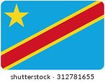 a flag illustration with... | Shutterstock .eps vector #312781655