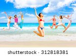 on a sunny day under the sun  | Shutterstock . vector #312818381
