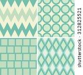 green pattern 4 style | Shutterstock .eps vector #312825521
