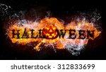 halloween pumpkin  jack o...   Shutterstock . vector #312833699