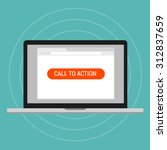 call to action landing page... | Shutterstock .eps vector #312837659