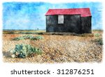 Watercolour Painting Of The Re...