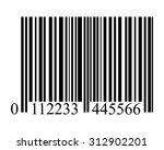 bar code on a white background...