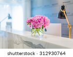 reception interior with... | Shutterstock . vector #312930764