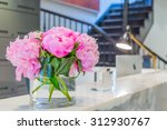 reception interior with... | Shutterstock . vector #312930767
