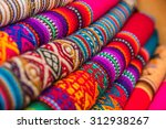 rugged andean textile and... | Shutterstock . vector #312938267