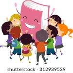 stickman illustration of kids...   Shutterstock .eps vector #312939539