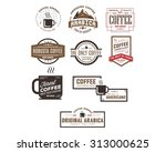 cafe coffee logo icon vector | Shutterstock .eps vector #313000625
