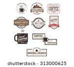 coffee logo | Shutterstock .eps vector #313000625