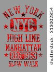 new york city vector art | Shutterstock .eps vector #313002854