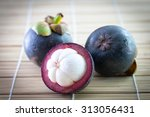 mangosteen fruit   Shutterstock . vector #313056431