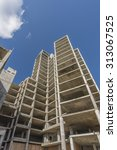 half constructed apartment... | Shutterstock . vector #313067525