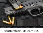 9 Mm Tactical Handgun And...