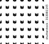 book vector icon seamless... | Shutterstock .eps vector #313081145