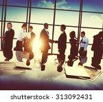business people partnership... | Shutterstock . vector #313092431