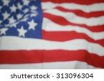 abstract crumpled retro... | Shutterstock . vector #313096304