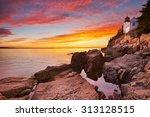 The Bass Harbor Head Lighthous...