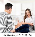 conflict. | Shutterstock . vector #313192184