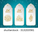 muslim abstract greeting... | Shutterstock .eps vector #313203581